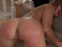 Busty MILF Orders Four Big Black Cocks to Fuck While her Husbands Away