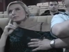 Consider, Hot girls fucked in movie theater