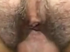 MILF with hairy pussy fucked