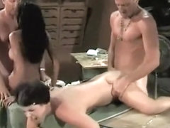 Naked mom blow job