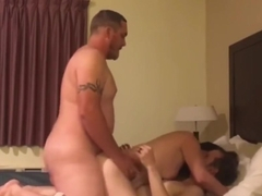 Two good ole boys share a wife with DVP and light bi-action