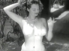 VINTAGE Stripper Betty Howard - 1940s