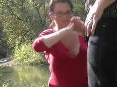 A Satisfying Handjob During a Hike
