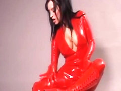 Rubberdoll.net  Wrapped in Red Latex