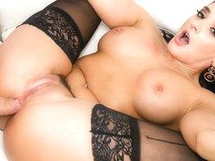 Black tits ebony