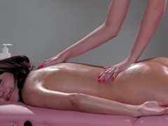 Blondie Gives Massage And Fondling Pussy Of Adria Rae