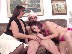 German Mom Teach Step-daughter How To Fuck Right