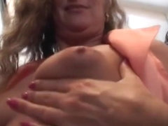 Pierced Pussy Mom Fucking At Work