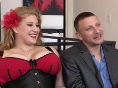 Sexy BBW Angel DeLuca fucked hard