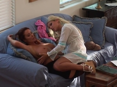 Crazy pornstars in Best HD, Lesbian adult video