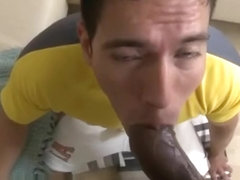 have faced it. lascive asian gives blowjob right! seems very