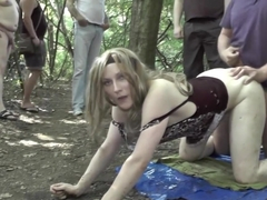 Teen Pärchen Outdoor Sex