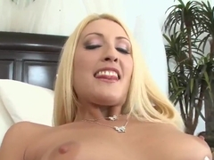 Jordan Ash cussing out hard precious blonde horny Sunny Dae in her all holes!