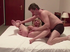 German Mom And Dad In First Time Porn Movie For Money