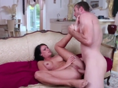 Sexy Neighbor Ashli Ames Gets Fucked After Swimming In His Pool