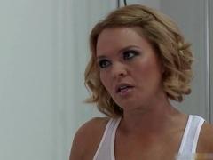 Krissy bangs bangs monster cock