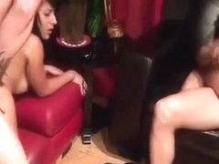 Fucking and swinging tits
