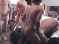 Schwarzer Schwuler Bareback Sex-Videos