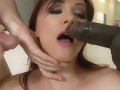 Anal drilling porn video featuring Alisya Gapes
