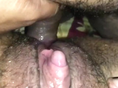 Rubbing and fucking Ftm Clit