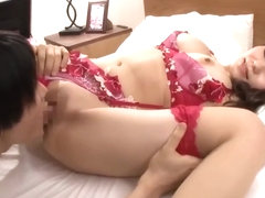 Cute Japanese with Big Tits Fucks to Creampie