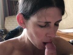 Hotel-Blowjob Schwarzer Latin-Porno