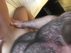 Three bear tattoo daddy fucking fucked