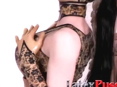 Latex lucy porn