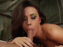 Incredible pornstar Chanel Preston in amazing cunnilingus, brunette adult movie