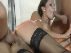 Elena Grimaldi - fuck with two guys
