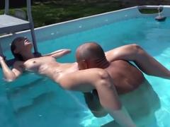 Fucking pool noodle videos free porn videos