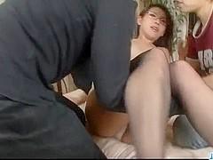 Something threesome stockings asian porn in ogawa mizuki remarkable