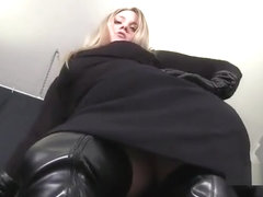 Miss Noel Knight Runing Your Balls For Good CBT Instruction