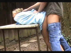 Incredible Amateur movie with Doggy Style, Public scenes