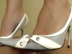 White shoes cock crush