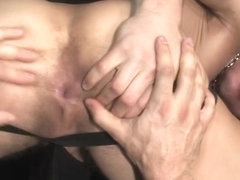 Muscle gay flip flop with anal cumshot