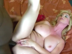 Big Tits Granny Black Cock Cumshot On Boobs After Bj
