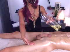 MissFluo - Best Massage with happy ending to throbbing oral creampie shot