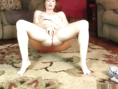 Amazing Mom Amber Dawn Riding Cock Well Her Step-son