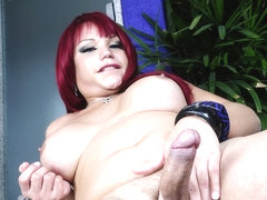 Angelika Campos Cums Hard - Brazilian-Transsexuals