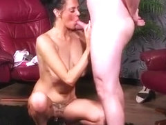 Spicy Model Gets Cumshot On Her Face Swallowing All The Juic