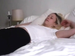 Female Fantasy: Finnish girl masturbating while fantasize about public sex