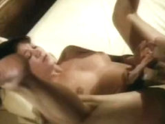 Ebony slut sucking cock