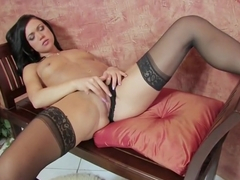 Crazy pornstar Mandy More in fabulous brunette, small tits xxx clip