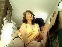 Mother and daughter in sexual orgy