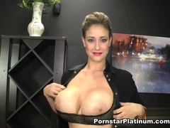 Eva Notty in Big Tits Strip Tease
