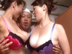 Kinky busty Japanese mature chicks are driven by hardcore fun