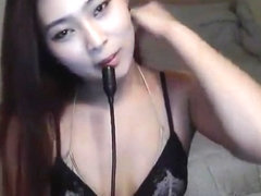 Softcore Teen Asian Swimsuit Model
