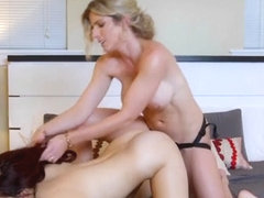 the busty babe pussy drilled by masseurs cock Prompt, where