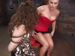 Amazing fetish adult video with fabulous pornstars Princess Donna Dolore and Charlotte Vale from Wiredpussy